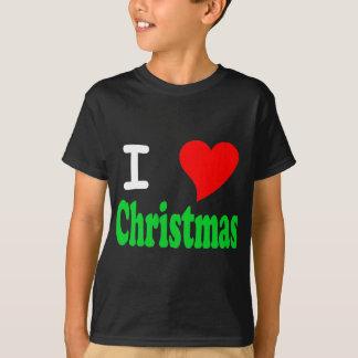 Camiseta Eu amo o t-shirt da obscuridade dos miúdos do