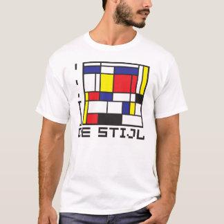Camiseta EU AMO o t-shirt de DE STIJL