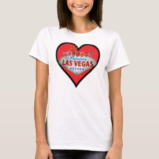 Camiseta Eu amo o t-shirt de Las Vegas