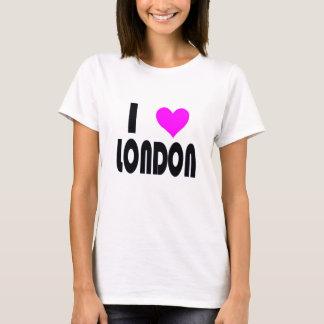Camiseta Eu amo o t-shirt de Londres Reino Unido