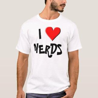 Camiseta Eu amo o t-shirt dos nerd