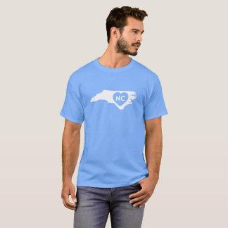 Camiseta Eu amo o t-shirt escuro dos homens do estado de