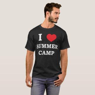 Camiseta Eu amo o t-shirt exterior da aventura do coração
