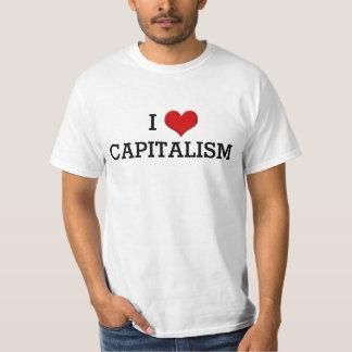 Camiseta Eu amo o t-shirt político engraçado do coração do