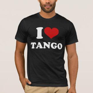 Camiseta Eu amo o tango