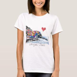 Camiseta Eu amo o terre do cinque