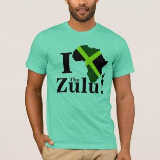 Camiseta Eu amo o tribo Zulu!