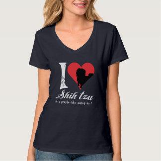 Camiseta Eu amo o tzu de Shih!