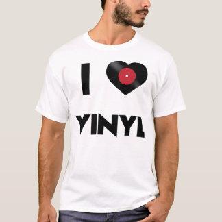 Camiseta Eu amo o vinil