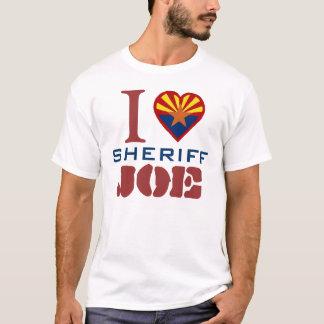 Camiseta Eu amo o xerife Joe