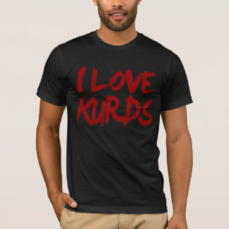 Camiseta Eu amo os Curdos legal