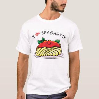 Camiseta Eu amo os espaguetes
