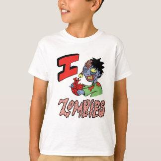 Camiseta EU AMO OS ZOMBIS terminados 3
