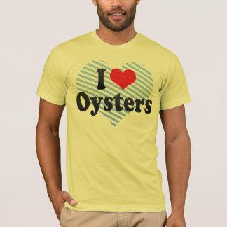 Camiseta Eu amo ostras