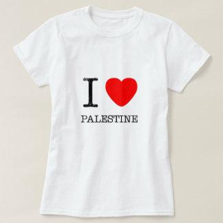 Camiseta Eu amo Palestina