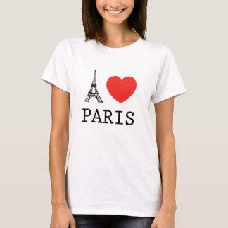 """CAMISETA EU """"AMO"""" PARIS"""