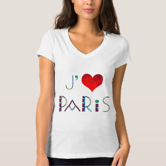Camiseta Eu amo Paris no vitral de Notre Dame