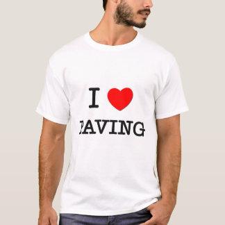 Camiseta Eu amo pavimentar