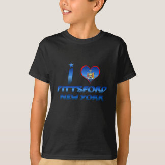 Camiseta Eu amo Pittsford, New York