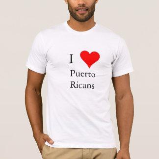 Camiseta Eu amo porto-riquenhos