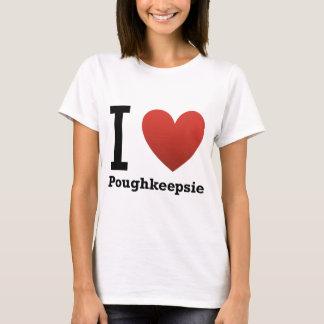 Camiseta Eu amo Poughkeepsie