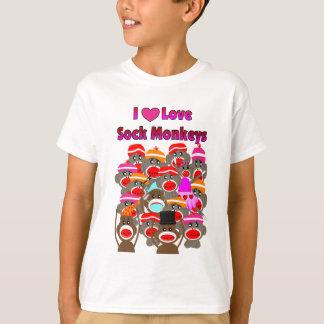 """Camiseta """"EU AMO presentes dos MACACOS da PEÚGA   """""""
