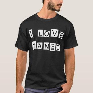 Camiseta Eu amo produtos & design do tango!