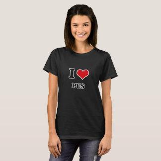 Camiseta Eu amo Pus