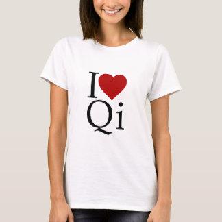 Camiseta Eu amo Qi
