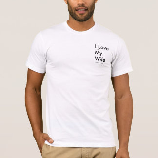 Camiseta Eu amo quando minha esposa me deixa ir pescar