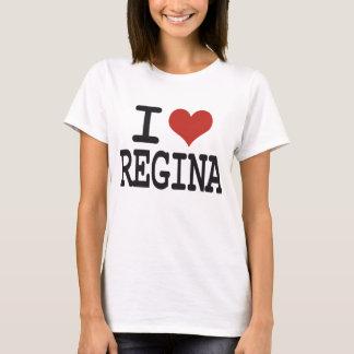 Camiseta Eu amo Regina