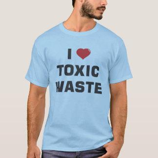Camiseta Eu amo resíduos tóxicos