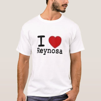 Camiseta Eu amo Reynosa