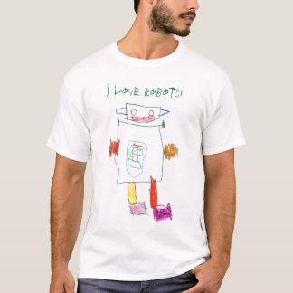 Camiseta Eu amo robôs!