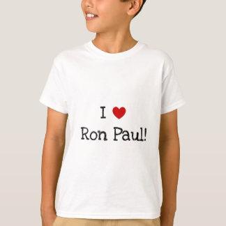 Camiseta Eu amo Ron Paul