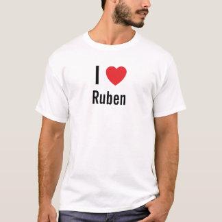 Camiseta Eu amo Ruben