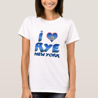 Camiseta Eu amo Rye, New York