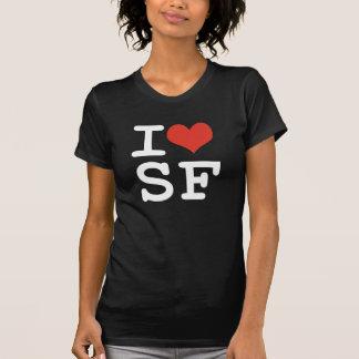 Camiseta Eu amo San Francisco