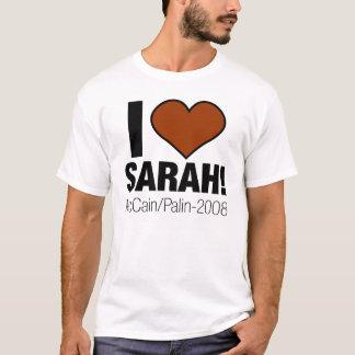 CAMISETA EU AMO SARAH PALIN!