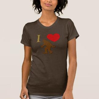 Camiseta Eu amo Sasquatch