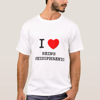 Camiseta Eu amo ser esquizofrénico