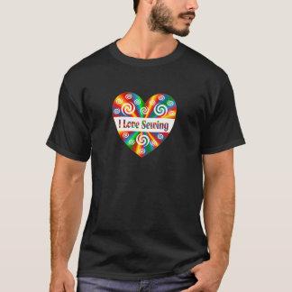 Camiseta Eu amo Sewing