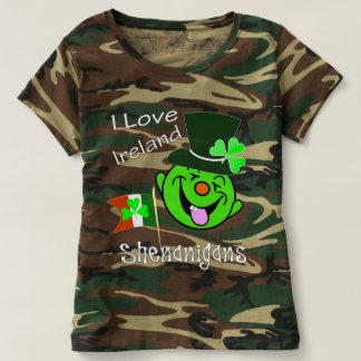 Camiseta Eu amo Shenanigans St Patrick engraçado de Ireland