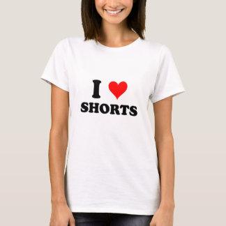 Camiseta Eu amo Shorts