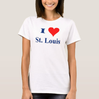 Camiseta Eu amo St Louis