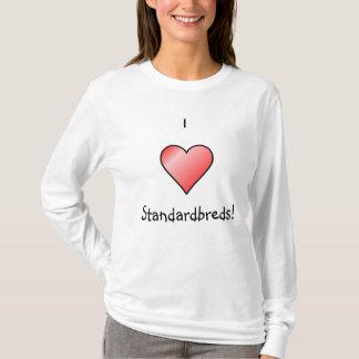 Camiseta Eu amo Standardbreds!