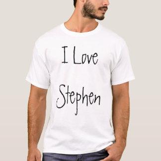 Camiseta Eu amo Stephen