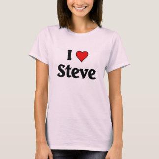 Camiseta Eu amo Steve