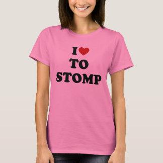 Camiseta Eu amo Stomp