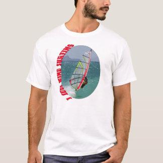 Camiseta Eu amo surfar do vento